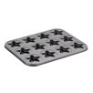 <strong>Novelty 12-Cup Star Molded Cookie Pan</strong> by Cake Boss