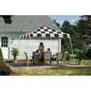 ShelterLogic 12ft. x 12ft. Pop-up Canopy with Slant Legs and Black Roller Bag