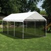 ShelterLogic 10ft. H x 10ft. W x 20ft. D  Canopy Screen Kit