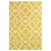Feizy Rugs Elisa Yellow & White Area Rug