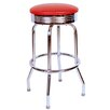 """<strong>Richardson Seating</strong> Retro Home 30"""" Swivel Bar Stool with Cushion"""