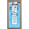 The James Lawrence Company The Family-Love Begins Framed Graphic Art