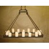 Laura Lee Designs Mallorca Hollowed Candle Electrified Chandelier