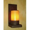 <strong>Laura Lee Designs</strong> Mallorca Single Hollowed Candle Wall Sconce