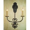 <strong>Laura Lee Designs</strong> Jasmine Double Wall Sconce