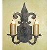 <strong>Laura Lee Designs</strong> Florence Double Wall Sconce