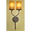 <strong>Laura Lee Designs</strong> Double Hollowed Candle Wall Sconce