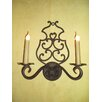 <strong>Laura Lee Designs</strong> Double Mediterranean Wall Sconce