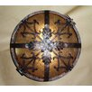 <strong>Laura Lee Designs</strong> Venetian Ceiling Dome Flush Mount