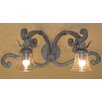 <strong>Laura Lee Designs</strong> Verona Double Arm Vanity Wall Sconce