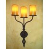 <strong>Triple Flame hollowed candle Wall sconce</strong> by Laura Lee Designs