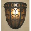 <strong>Laura Lee Designs</strong> Palm Half Dome Wall Sconce