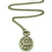 Jordan and Taylor Pocket Rose Watch Necklace