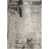Kalora Ashbury Stroke of Abstract Grey Area Rug