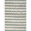 Kalora Alpha Teal Nautical Stripes Rug
