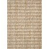Kalora Naturals Sisal Light Brown Stripes Area Rug