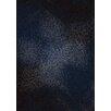 Kalora Nuance Starburst Blue Area Rug