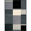 <strong>Ming Grey Black Squares Rug</strong> by Kalora