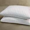 Blue Ridge Home Fashions 350 Thread Count White Goose Feather Jumbo Pillow (Set of 2)