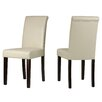 Cortesi Home Cece Parsons Chair (Set of 2)