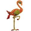 <strong>Fantasyard</strong> Hyacinth Enamel Flamingo Bird Crystal Brooch