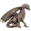 Fantasyard Mythical Flying Dragon Crystal Brooch