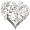 <strong>Fantasyard</strong> Siam Butterfly Heart Fashion Crystal Brooch