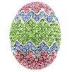 Fantasyard Easter Egg Holiday Crystal Brooch
