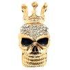 Fantasyard Skull with Crown Fashion Crystal Pin Brooch