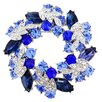 Fantasyard Wreath Crystal Pin Brooch Pendant
