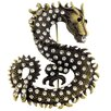 Fantasyard Dragon Crystal Pin Animal Crystal Brooch