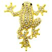 <strong>Fantasyard</strong> Frog Animal Crystal Brooch