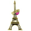 <strong>Fantasyard</strong> Heart Paris Eiffel Tower Brooch Pendant