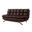Milton Green Star Lugo Plush Futon Sleeper Sofa