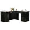 Eagle Furniture Manufacturing Coastal L-Shape Desk Office Suite