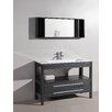"""Bosconi Contemporary 48"""" Single Bathroom Vanity Set"""