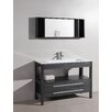 "Bosconi Contemporary 48"" Single Vanity Set"