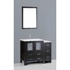 "Bosconi Contemporary 42"" Single Vanity Set"