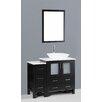 "Bosconi Contemporary 42"" Single Vanity Set"