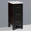 "Bosconi Contemporary 12"" x 31"" Free Standing Cabinet"