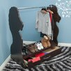 Ace Baby Furniture Lion Mobile Dress Up Clothes and Shoe Organizer Armoire