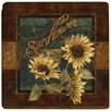 <strong>Thirstystone</strong> Sunflower Farm Travertine Ambiance Trivet