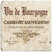 Thirstystone Ambiance Cabernet Wine Label Travertine Trivet