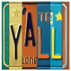 Thirstystone License Plates Y'all Occasions Coasters Set (Set of 4)