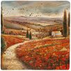 <strong>Thirstystone</strong> Tuscan Palette Travertine Ambiance Coaster Set (Set of 4)
