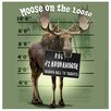 <strong>Thirstystone</strong> Moose on the Loose Occasions Coasters Set (Set of 4)