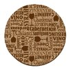 <strong>Thirstystone</strong> Wine Words Cork Coaster Set (Set of 6)