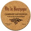 <strong>Thirstystone</strong> Cabernet Wine Label Cork Coaster Set (Set of 6)