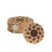 Thirstystone 7 Piece Beachside Cork Coaster Gift Set