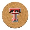 <strong>Thirstystone</strong> Texas Tech University Cork Collegiate Coaster Set (Set of 6)